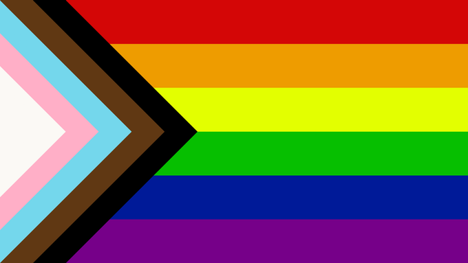 new progress pride flag
